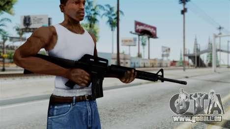 No More Room in Hell - M16A4 Carryhandle pour GTA San Andreas troisième écran