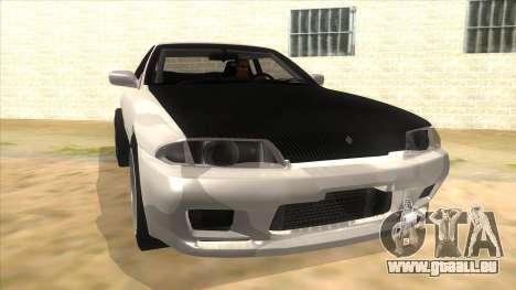 Nissan Skyline R32 Drag für GTA San Andreas Rückansicht