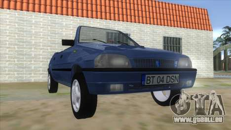 Dacia SuperNova pour GTA San Andreas vue arrière