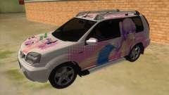 2005 Nissan X-Trail 2.5 XT Tomori Nao Itasha für GTA San Andreas