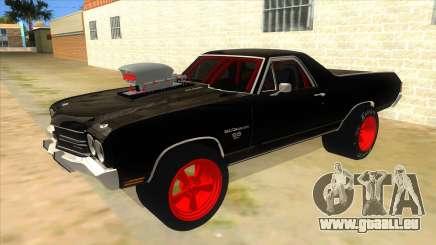 1970 Chevrolet El Camino SS Drag für GTA San Andreas
