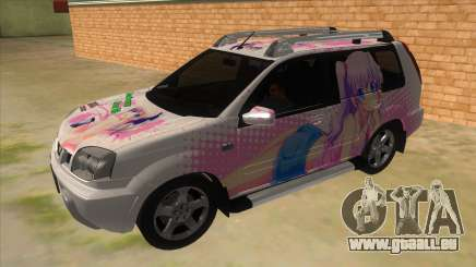 2005 Nissan X-Trail 2.5 XT Tomori Nao Itasha pour GTA San Andreas