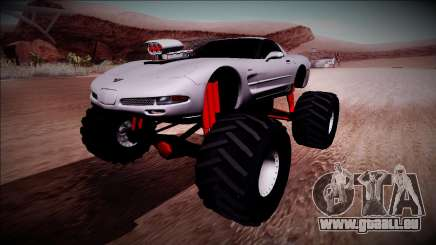 Chevrolet Corvette C5 Monster Truck pour GTA San Andreas