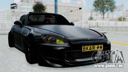 Honda S2000 Berlin Black pour GTA San Andreas