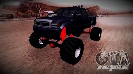 GTA 5 Vapid Sadler Monster Truck für GTA San Andreas