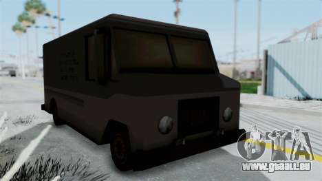 Boxville from Manhunt pour GTA San Andreas vue de droite
