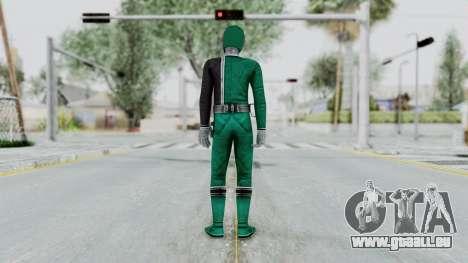 Power Rangers S.P.D - Green für GTA San Andreas dritten Screenshot