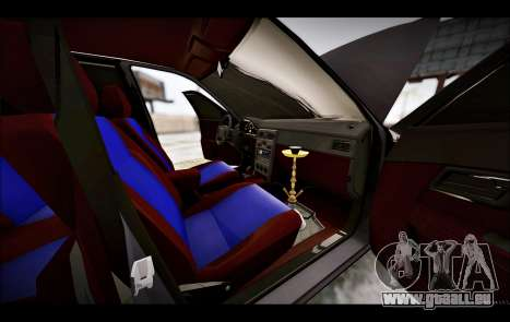 Lada Priora Bpan Version pour GTA San Andreas vue de côté