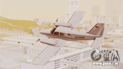 Piper Seneca II für GTA San Andreas linke Ansicht