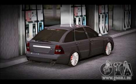 Lada Priora Bpan Version für GTA San Andreas linke Ansicht