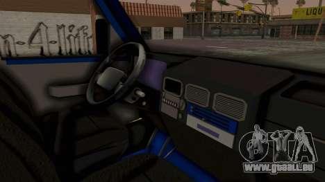 Zastava Rival Ice Cream Truck für GTA San Andreas rechten Ansicht