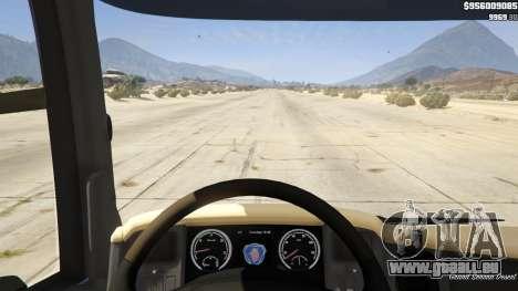 GTA 5 Scania R440 Rückansicht