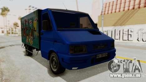 Zastava Rival Ice Cream Truck für GTA San Andreas