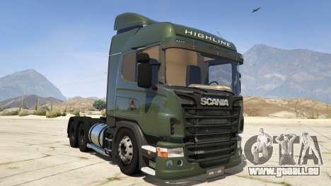 Scania R440 für GTA 5