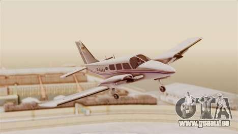 Piper Seneca II für GTA San Andreas zurück linke Ansicht