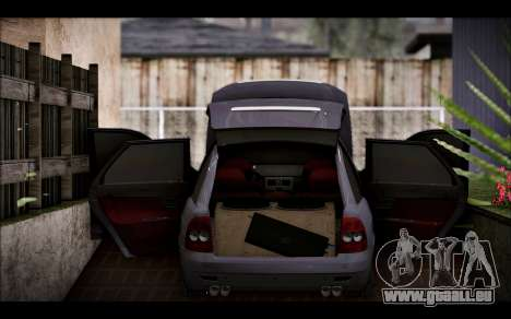 Lada Priora Bpan Version pour GTA San Andreas vue arrière