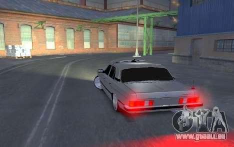 GAZ 3102 für GTA 4 hinten links Ansicht