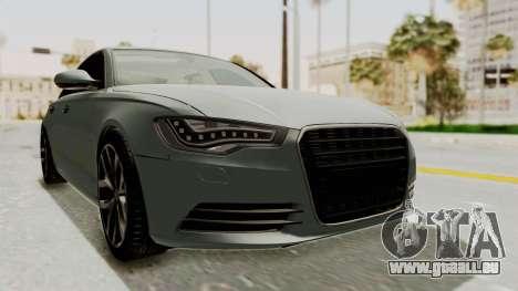 Audi A6 pour GTA San Andreas vue de droite