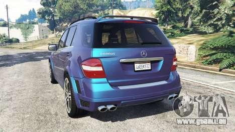Mercedes-Benz ML63 (W164) Brabus 2009 pour GTA 5