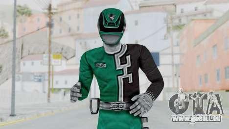 Power Rangers S.P.D - Green für GTA San Andreas