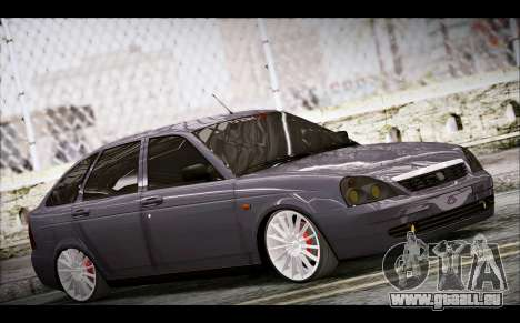 Lada Priora Bpan Version pour GTA San Andreas