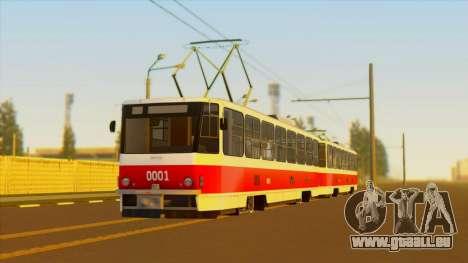 Tatra T6B5 für GTA San Andreas