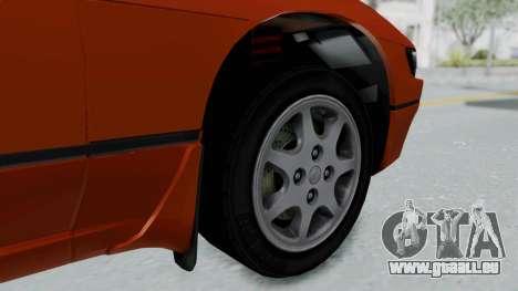 Nissan Sileighty - Stock pour GTA San Andreas sur la vue arrière gauche