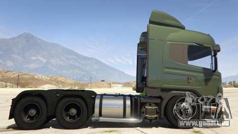 GTA 5 Scania R440 linke Seitenansicht