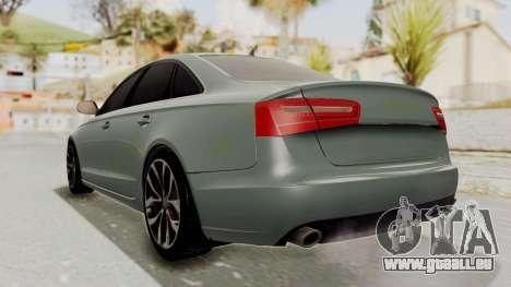 Audi A6 pour GTA San Andreas laissé vue