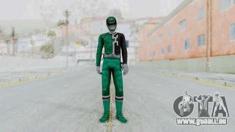 Power Rangers S.P.D - Green für GTA San Andreas zweiten Screenshot