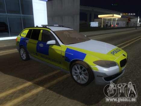 Jersey Police de la BMW 530d Touring pour GTA San Andreas
