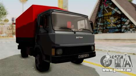 Zastava 640 pour GTA San Andreas sur la vue arrière gauche