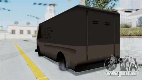 Boxville from Manhunt pour GTA San Andreas laissé vue