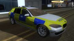 Jersey Polizei-BMW 530d Touring