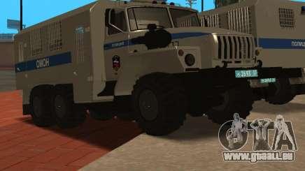 Ural 4320 riot-Polizei für GTA San Andreas