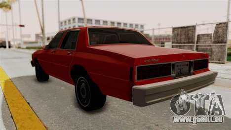 Chevrolet Caprice Classic 1986 v2.0 für GTA San Andreas linke Ansicht