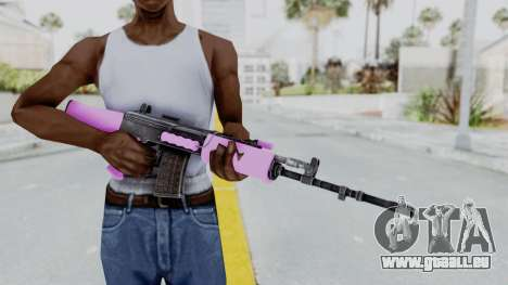 IOFB INSAS Light Pink für GTA San Andreas dritten Screenshot
