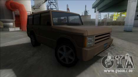 New Huntley für GTA San Andreas linke Ansicht