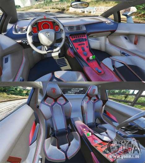 GTA 5 Lamborghini Veneno 2013 hinten rechts