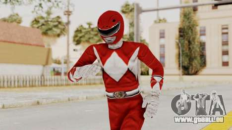 Mighty Morphin Power Rangers - Red pour GTA San Andreas