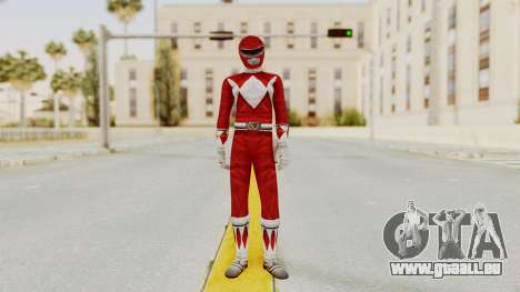 Mighty Morphin Power Rangers - Red für GTA San Andreas zweiten Screenshot