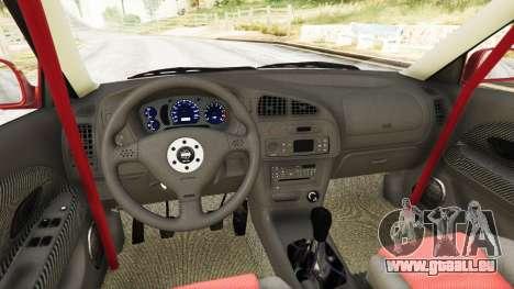GTA 5 Mitsubishi Lancer GSR Evolution VI 1999 hinten rechts