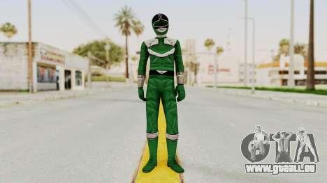 Power Rangers Time Force - Green pour GTA San Andreas deuxième écran