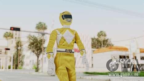 Mighty Morphin Power Rangers - Yellow pour GTA San Andreas
