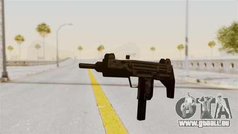 Liberty City Stories Uzi für GTA San Andreas zweiten Screenshot
