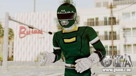 Power Rangers Turbo - Green pour GTA San Andreas
