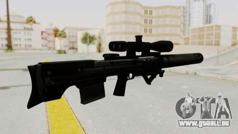 VKS Sniper Rifle pour GTA San Andreas deuxième écran