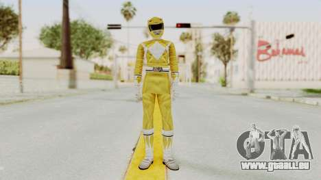 Mighty Morphin Power Rangers - Yellow für GTA San Andreas zweiten Screenshot
