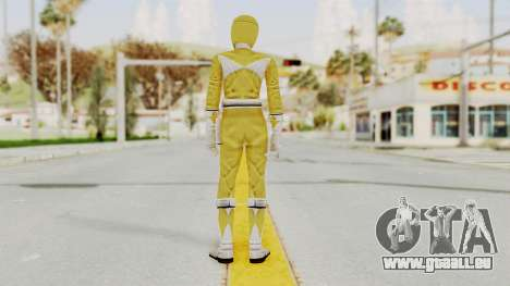Mighty Morphin Power Rangers - Yellow pour GTA San Andreas troisième écran