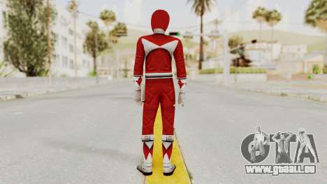 Mighty Morphin Power Rangers - Red für GTA San Andreas dritten Screenshot